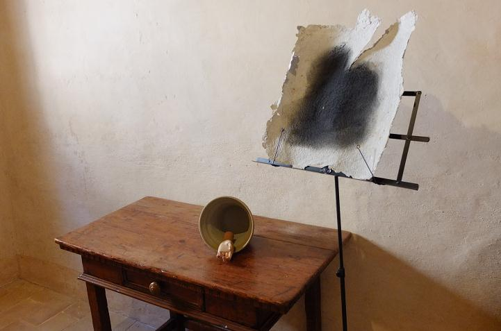 LUCIANO TITTARELLI - ANNI 10 - MOSTRA AL CONVENTINO DI SANTA MARIA DEGLI ANGELI- ISTALLAZIONE 2015 (3)
