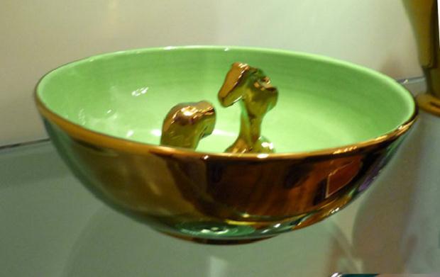 Luciano Tittarelli - Anni 00 - ciotola-a-riflesso-rame-e-verde-brillante-2009-larg-cm-22-ceramiche-bizzirri