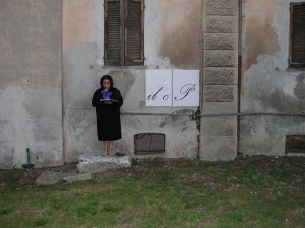 Luciano Tittarelli - Anni 00 - performance-viaggio-nel-tempo-e-spazio-4-2004