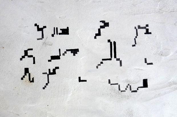 Luciano Tittarelli - Anni 10 - affresco-pixel-affresco-2010