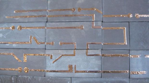 Luciano Tittarelli - Anni 10 - progetto-per-triennale-di-ceramica-a-gualdo-tadino-dettaglio-2010
