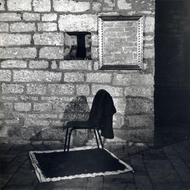 Luciano Tittarelli - Anni 80 - installazione-materiali-vari-gubbio-1986