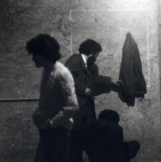 Luciano Tittarelli - Anni 80 - quadrato-e-giacca-rocca-paolina-1980