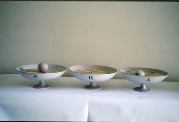 Luciano Tittarelli - Anni 90 - ars-kilics-in-maiolica-1992-22x120-cm
