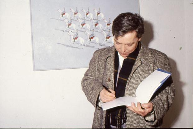 Luciano Tittarelli - Anni 90 - mostra-bella-copia-presso-galleria-spazio-arte-1994-perugia