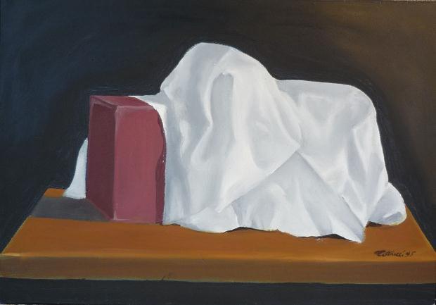 Luciano Tittarelli - Anni 90 - scatola-olio-su-tela-cm-50x701995