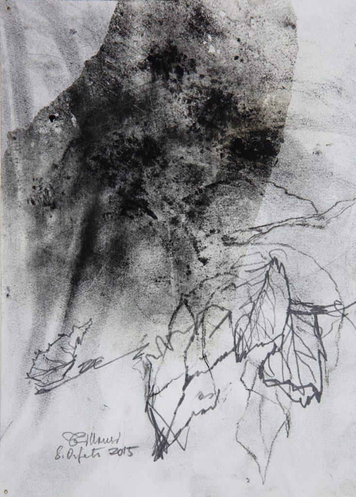 LUCIANO TITTARELLI - CARBONCINO SU CARTA , 35,5X27,2015